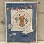 Hoop Embroidery Kit