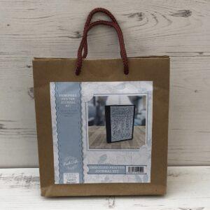 Embossed Pewter Journal Kit