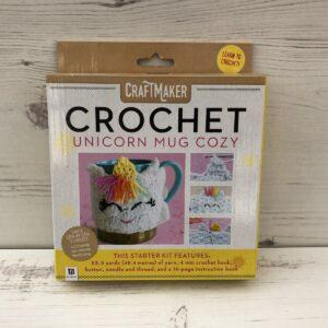 Crochet Unicorn Mug Cozy