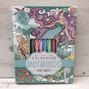 Mermaids Kaleidoscope Colouring Set