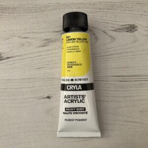 CRYLA 651: Lemon Yellow