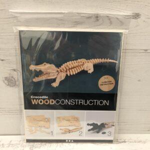 Wood Construction Kit: Crocodile