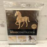 Wood Construction Kit: Horse