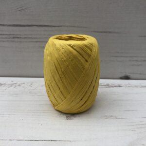 Coloured Raffia: Yellow