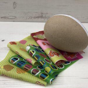 Large Split Easter Egg Decopatch Kit