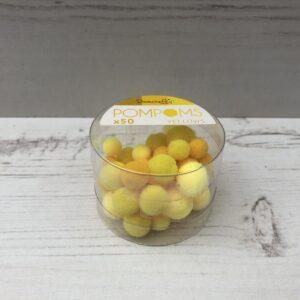 Pom Poms: Yellows