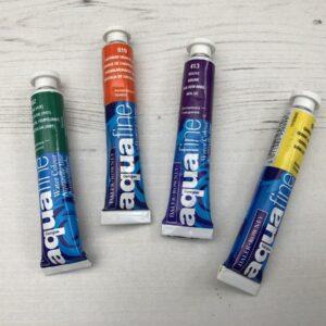Aquafine Watercolour Paint Tubes
