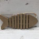 Papier-Mâché Bone Fish (M)
