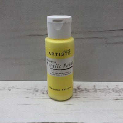 All-Purpose Acrylic: Banana Yellow