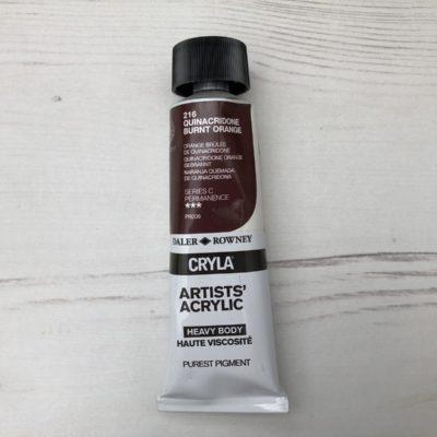 CRYLA 216: Quinacridone Burnt Orange