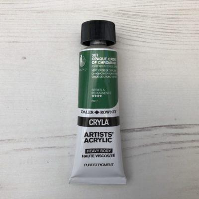 CRYLA 367: Opaque Oxide of Chromium