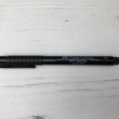 Pitt Pen Fine: Black (199)