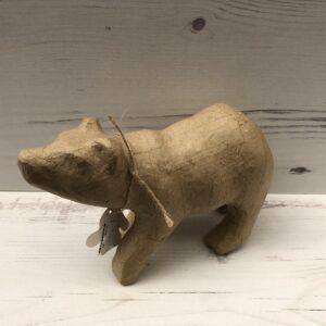 Papier-Mâché Polar Bear (L)