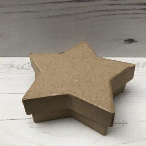 Papier-Mâché Star Box (Small)