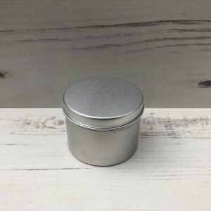 Metal Tin with Lid (Small)