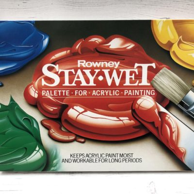 Daler Rowney: Stay Wet Palette for Acrylic Painting