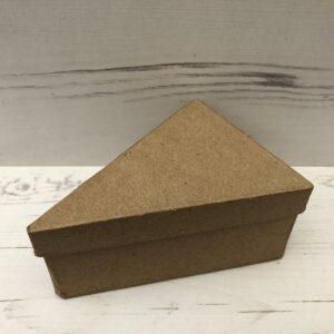 Papier-Mâché Triangle Shaped Box (Medium)
