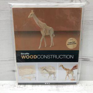 Wood Construction Kit: Giraffe