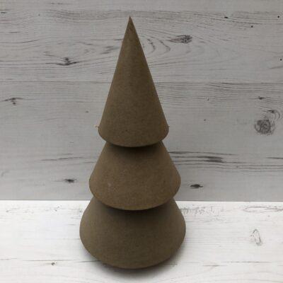 Papier-Mâché Christmas Tree (L)