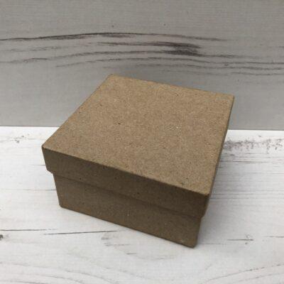Papier-Mâché Square Box (Small)