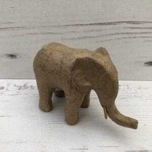 Papier-Mâché Elephant (S)