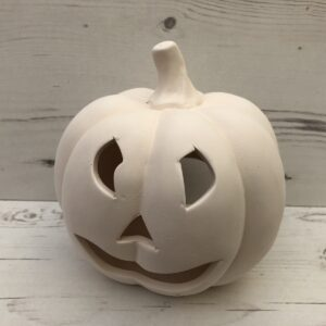 Ceramic Pumpkin Tealight Candle Holder