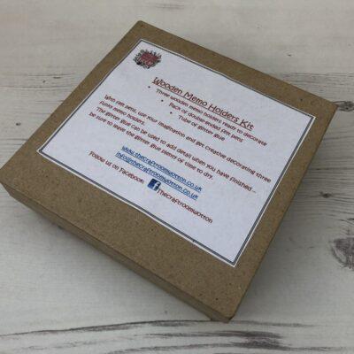 Wooden Memo Holder Kit