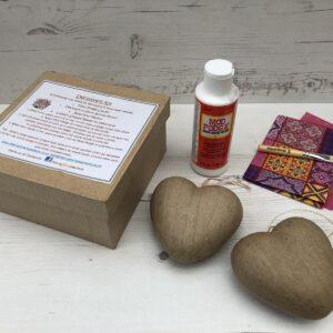 Heart Decopatch Kit