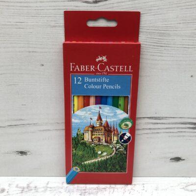 Faber Castell 12 Colour Pencils