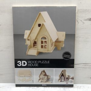 Wood Construction Kit: House With Ramp