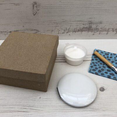 Decopatch Compact Mirror Kit: Circular