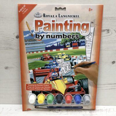 Paint by Numbers: Grand Prix (Junior-Medium)