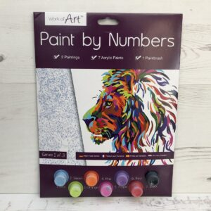 Paint by Numbers Basic: Lion