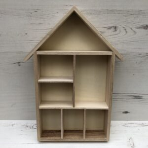 Wooden Shelving System House