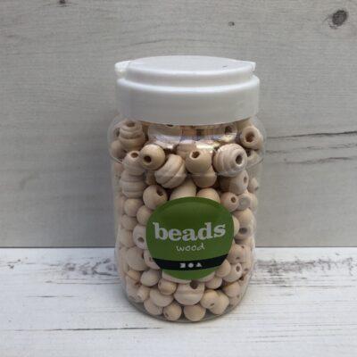 Wooden Beads: Natural Mega Mix