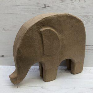 Papier-Mâché 2D Elephant (M)