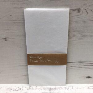 Tissue Paper: White