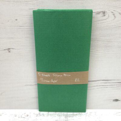 Tissue Paper: Dark Green