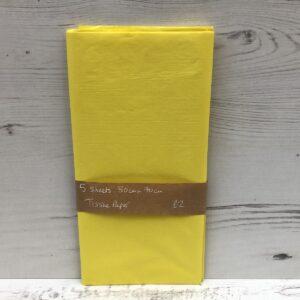Tissue Paper: Yellow