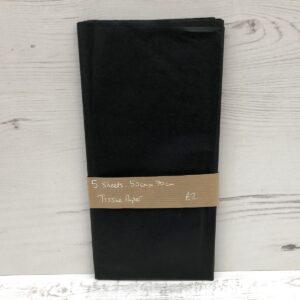 Tissue Paper: Black