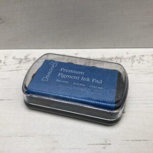 Dovecraft: Premium Pigment Ink Pad: Deep Blue