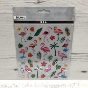 Stickers: Flamingos
