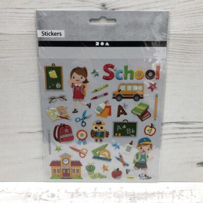 Stickers: School