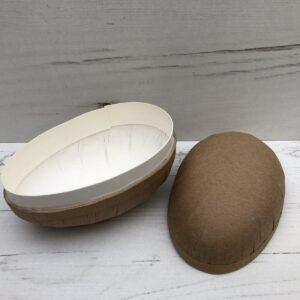 Papier-Mâché 2-Piece Egg