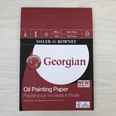 Daler Rowney: Georgian Oil Painting Pad (10″ x 7″)