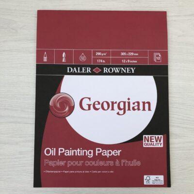 Daler Rowney: Georgian Oil Painting Pad (12″ x 9″)