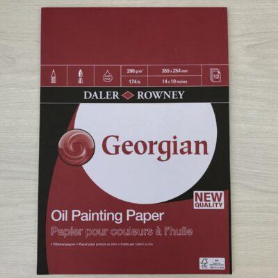 Daler Rowney: Georgian Oil Painting Pad (14″ x 10″)