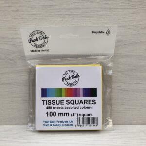 Tissue Paper Squares (100mm)