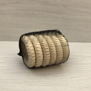 Wooden Macramé Rings (55mm)