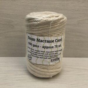 Macramé Cord (5mm 70m)